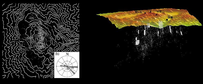 微細な断層構造