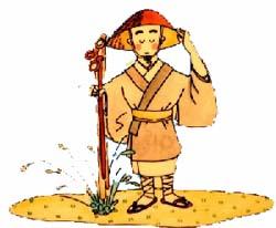 日本各地の温泉を発見したとされる高僧