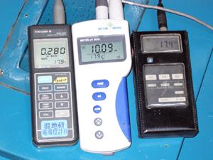 pH計など現地分析器機